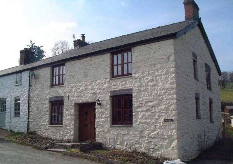 3 Bedrooms Semi Detached House for rent in Llwynteg, Llanerfyl, Welshpool