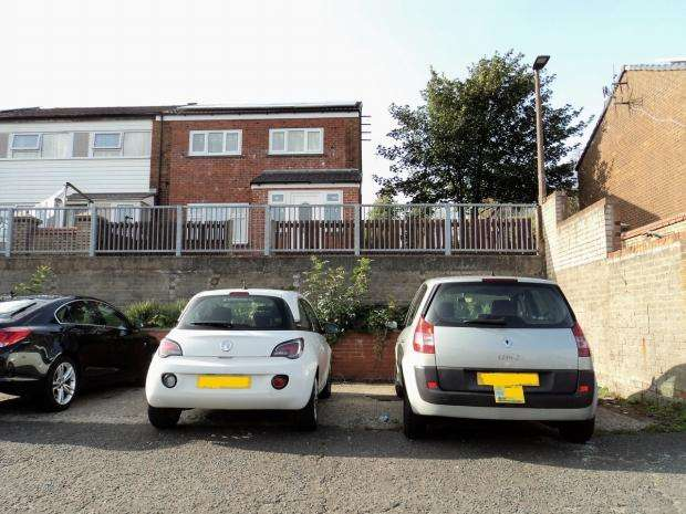 3 Bedrooms End Of Terrace House for sale in Tenby Close Blackburn