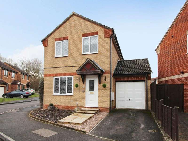 3 Bedrooms Detached House for sale in Woodstock Close, Hedge End SO30