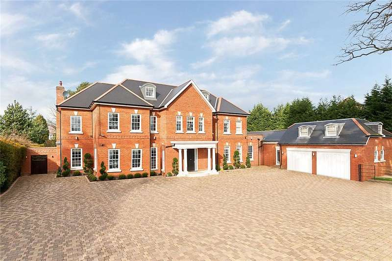 8 Bedrooms Detached House for rent in Adelaide Road, Walton-on-Thames, Surrey, KT12