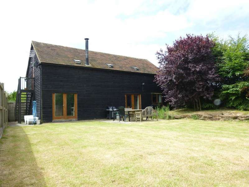 4 Bedrooms Barn Conversion Character Property for rent in Thornsdale, Wittersham Road, Iden