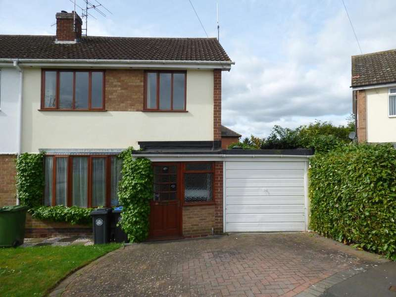 3 Bedrooms Semi Detached House for sale in Lea Close, Stratford-Upon-Avon