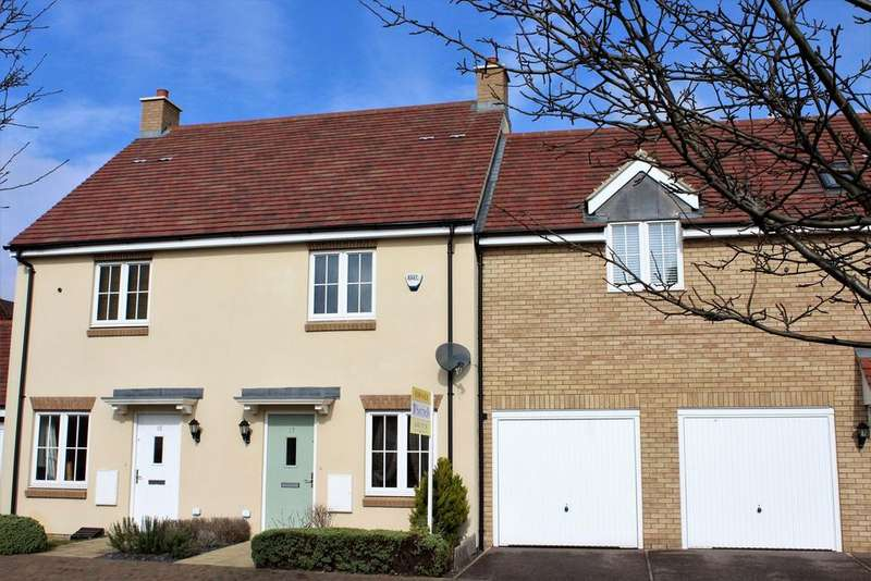 2 Bedrooms Terraced House for sale in Marigold Way, Stotfold, Hitchin, SG5