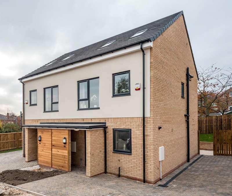 3 Bedrooms Semi Detached House for sale in Sanctum, Potters Way, Kilnhurst, Swinton, South Yorkshire, S64