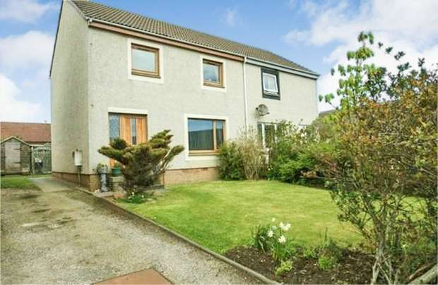 3 Bedrooms End Of Terrace House for sale in Captain Gray Place, Peterhead, Aberdeenshire