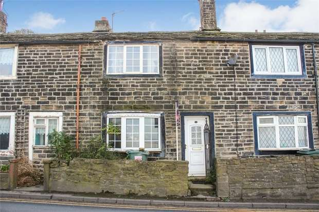 1 Bedroom Terraced House for sale in Morningside, Denholme, Bradford, West Yorkshire