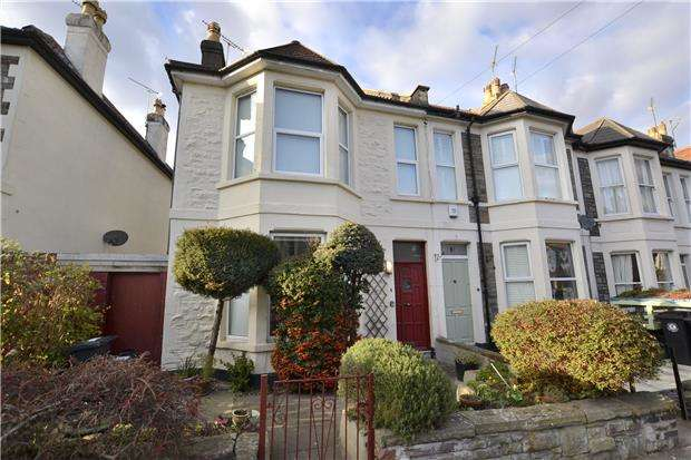 3 Bedrooms End Of Terrace House for sale in Dongola Road, Bishopston, Bristol, BS7 9HW