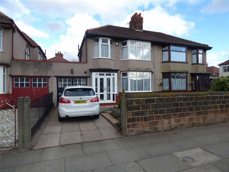 3 Bedrooms Semi Detached House for sale in Queens Drive, West Derby, Liverpool, Merseyside, L13