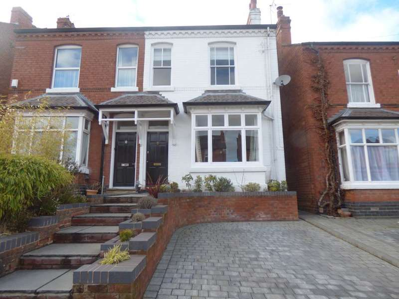 4 Bedrooms Semi Detached House for sale in Park Hill Road, Harborne, Birmingham, B17 9HJ