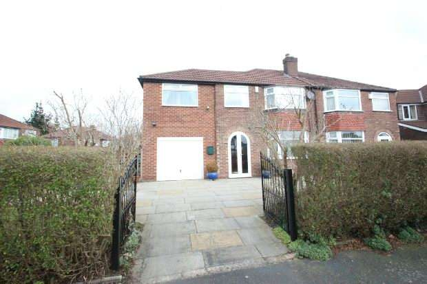 4 Bedrooms Semi Detached House for sale in Cumberland Road, Sale