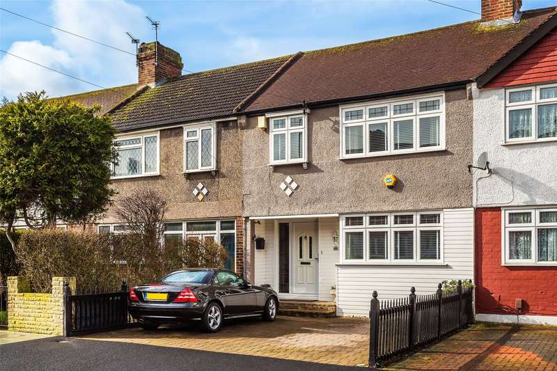 3 Bedrooms Terraced House for sale in Brockenhurst Way, London, SW16