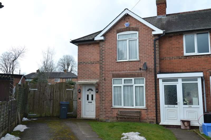 2 Bedrooms End Of Terrace House for sale in Westcliffe Place, Northfield, Birmingham, B31
