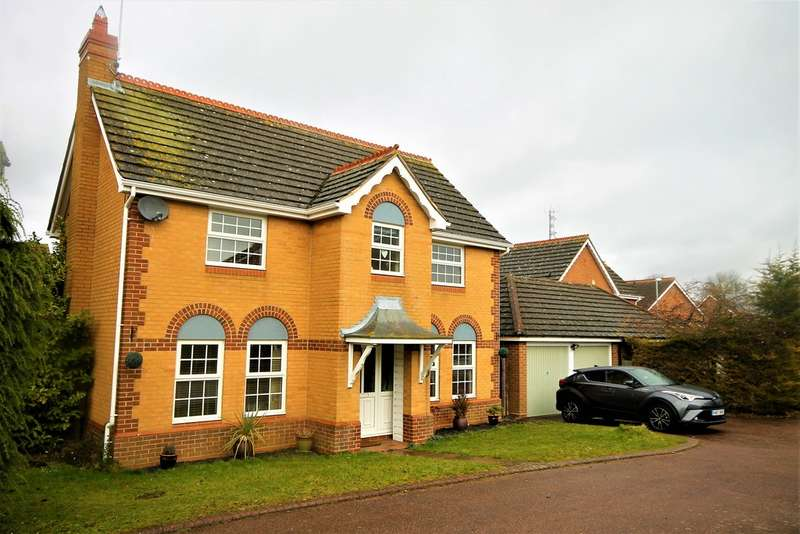 4 Bedrooms Detached House for sale in Stourhead Drive , East Hunsbury NN4