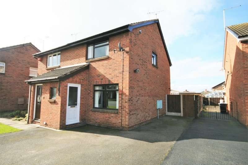 2 Bedrooms Semi Detached House for rent in Cromer Drive, Crewe CW1