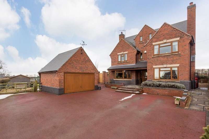 5 Bedrooms Detached House for sale in Norbury, Stafford