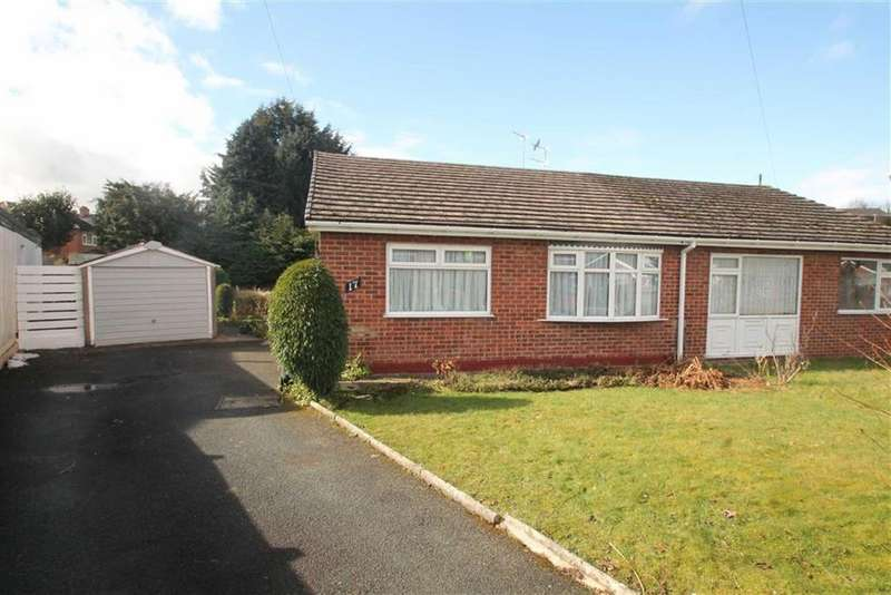 2 Bedrooms Semi Detached Bungalow for sale in Monkmoor Road, Oswestry