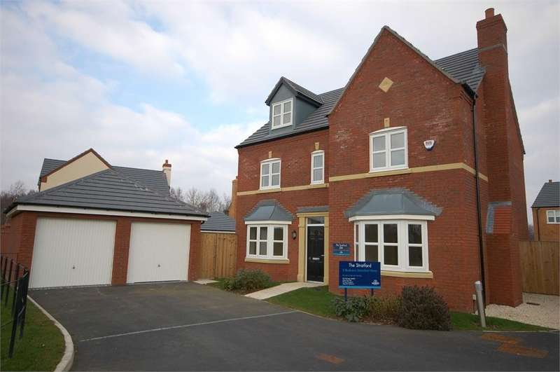5 Bedrooms Detached House for sale in Shirebrook Close, Waterside Village, ST HELENS, Merseyside