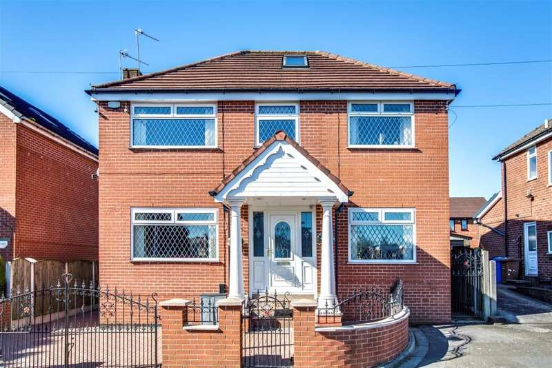 4 Bedrooms Detached House for sale in Shearwater Drive, Worsley, Manchester, M28 0AH