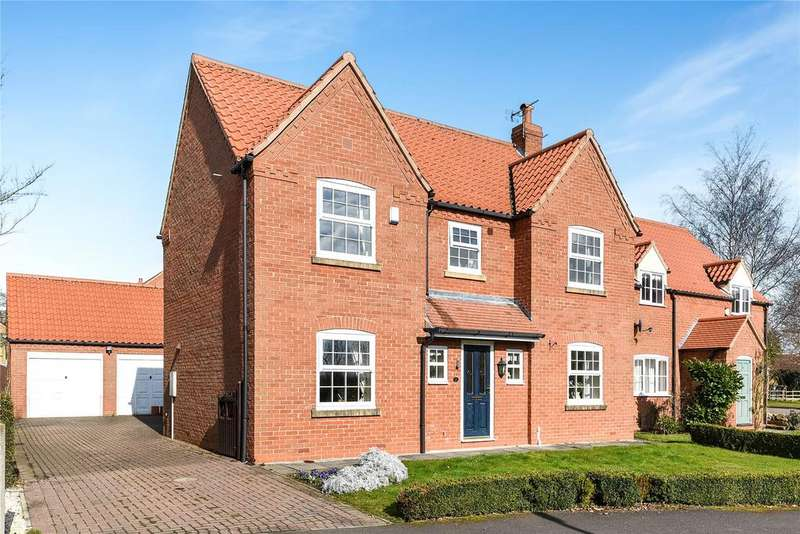 4 Bedrooms Detached House for sale in Skayman Fields, Carlton le Moorland, LN5