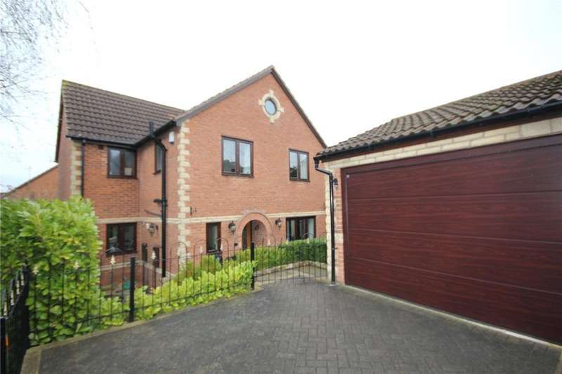 4 Bedrooms Detached House for sale in Campion Close, Shirebrook, Nottinghamshire, NG20