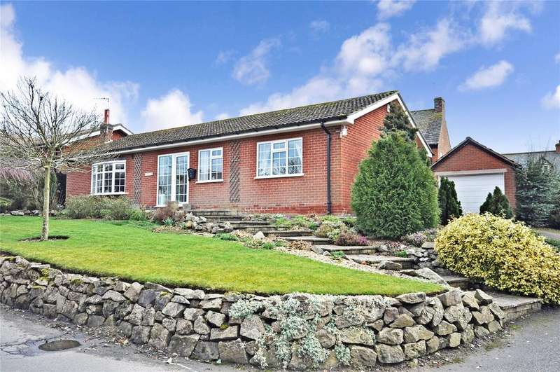 3 Bedrooms Detached Bungalow for sale in Church Lane, Thorpe Satchville, Melton Mowbray