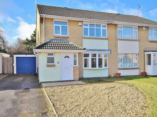 3 Bedrooms Semi Detached House for sale in Christopher Crescent, Oakdale, POOLE, Dorset