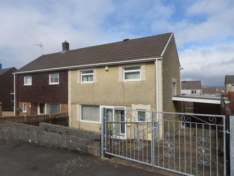 3 Bedrooms Semi Detached House for sale in Wyngarth, Winch Wen, Swansea