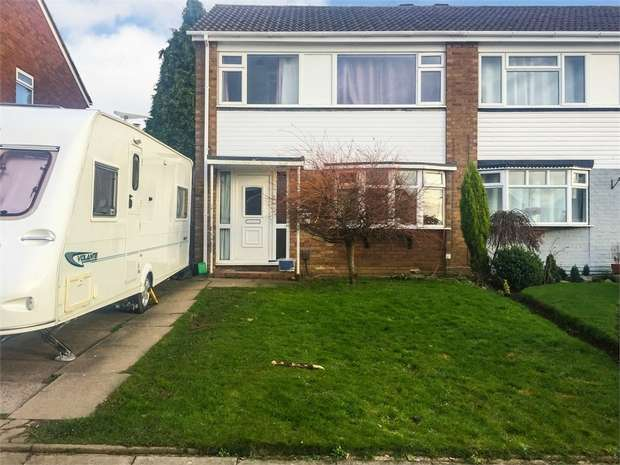 3 Bedrooms Semi Detached House for sale in Hillman, Tamworth, Staffordshire