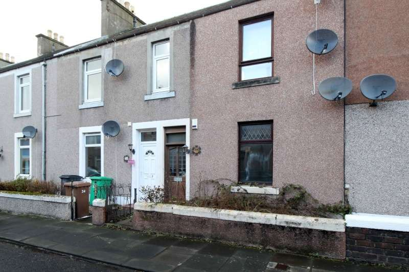 2 Bedrooms Ground Flat for sale in Gladstone Street, Leven, Fife, KY8 4QF