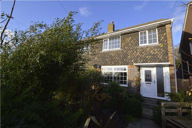 3 Bedrooms Semi Detached House for sale in Fairstone Close, HASTINGS, East Sussex, TN35 5EZ