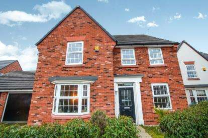 4 Bedrooms Detached House for sale in Teddy Gray Avenue, Elworth, Sandbach, Cheshire