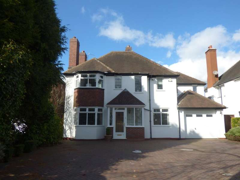 4 Bedrooms Detached House for sale in Croftdown Road, Harborne, Birmingham, B17 8RA