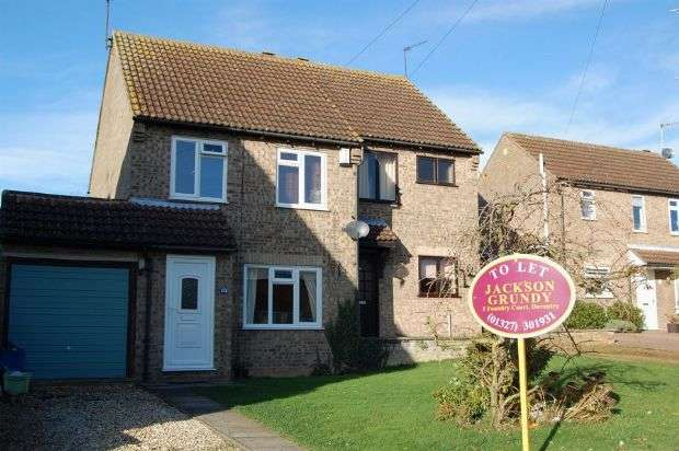 3 Bedrooms Semi Detached House for rent in Spencer Road , Long Buckby , Northampton NN6 7YP