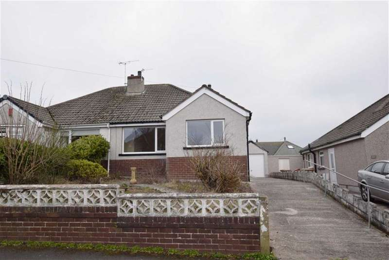 2 Bedrooms Semi Detached Bungalow for sale in Hawcoat Lane, Barrow In Furness, Cumbria