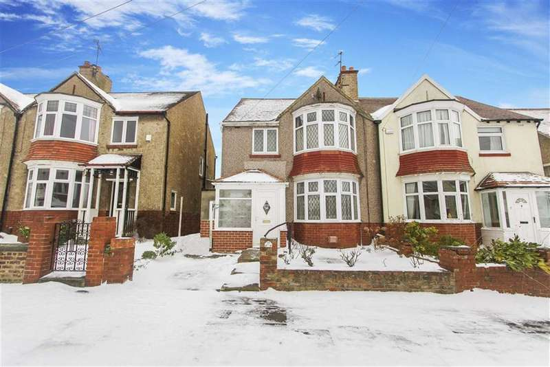 3 Bedrooms Semi Detached House for sale in Ashbrooke, Monkseaton, Whitley Bay