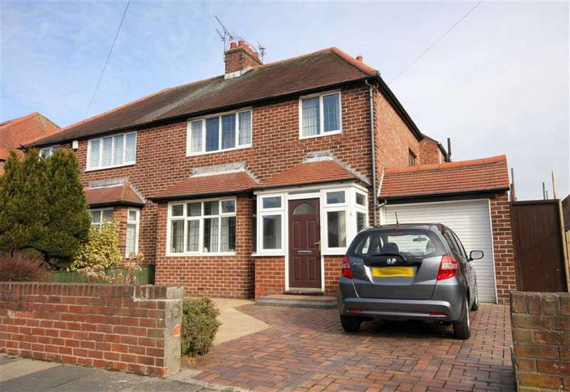 3 Bedrooms Semi Detached House for sale in Longridge Drive, Whitley Bay, Tyne And Wear, NE26