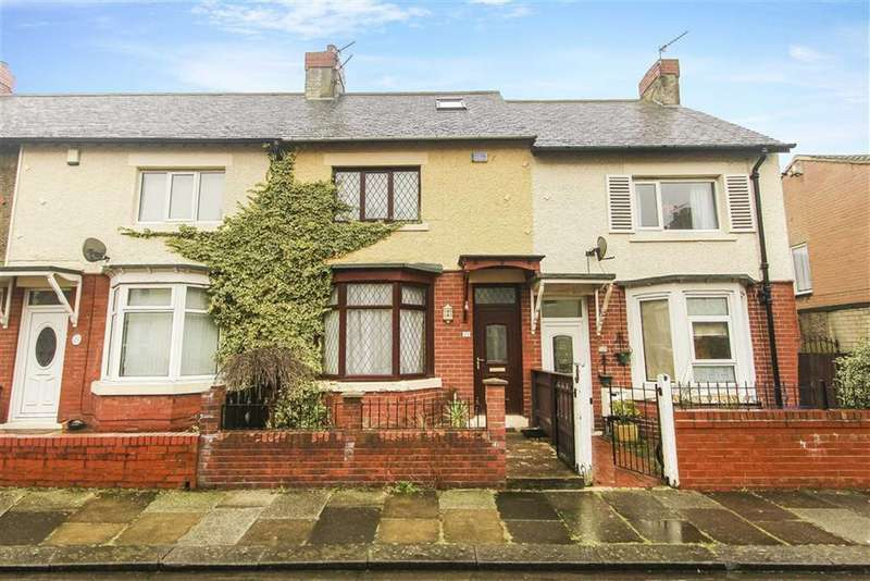 3 Bedrooms Terraced House for sale in Columbia Terrace, Blyth, Northumberland