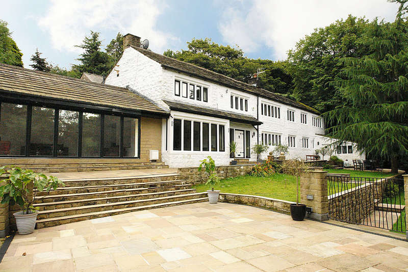 5 Bedrooms Semi Detached House for sale in Clough Bottom, Uppermill, Saddleworth
