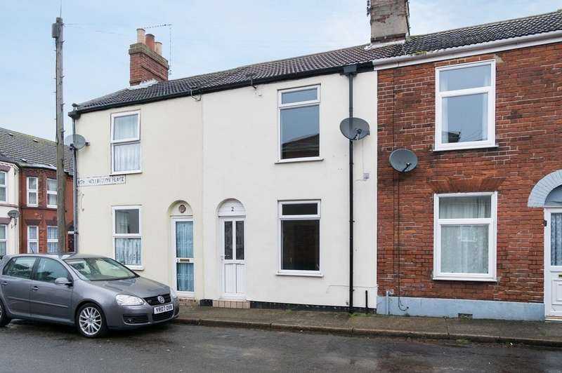 2 Bedrooms Terraced House for sale in New Wellington Place, Great Yarmouth