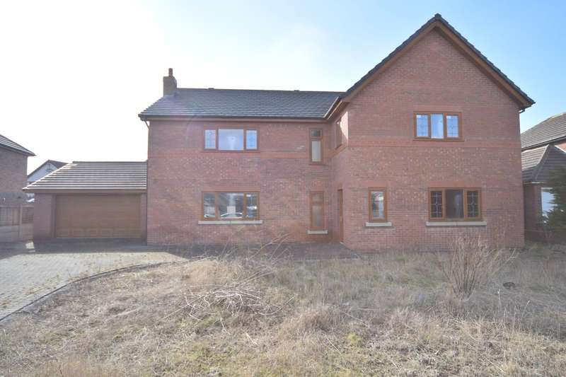 4 Bedrooms Detached House for sale in Riverside Gardens, Barrow-in-Furness, Cumbria, LA13 0DD
