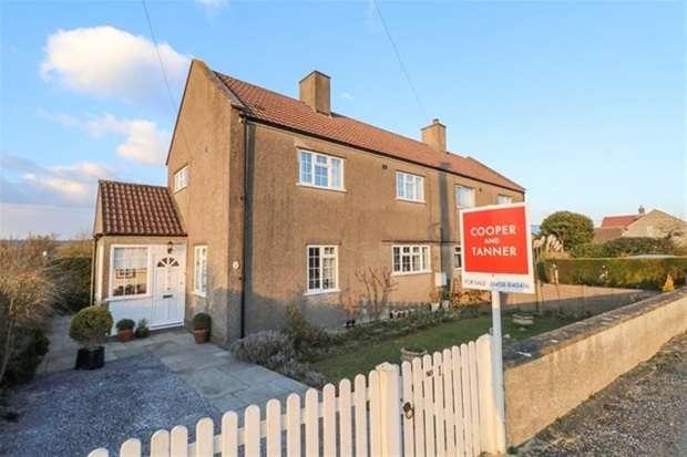 3 Bedrooms Semi Detached House for sale in Pylle Lane, Pylle