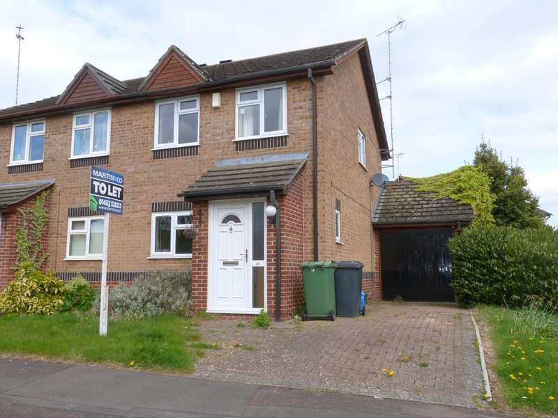 3 Bedrooms Semi Detached House for rent in Palmer Avenue, Abbeymead, Gloucester GL4