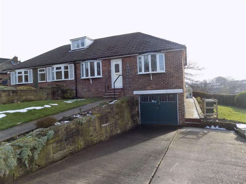 2 Bedrooms Semi Detached Bungalow for sale in Orchard Road, Kirkheaton, HUDDERSFIELD, HD5