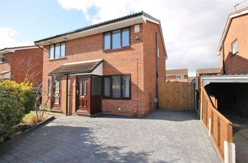 2 Bedrooms Semi Detached House for sale in Chatsworth Drive, Widnes, WA8 4SW