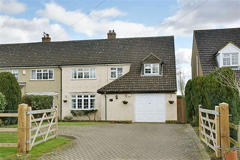 4 Bedrooms Semi Detached House for sale in Blue Hill Cottages, High Elms Lane, Watton At Stone, SG14
