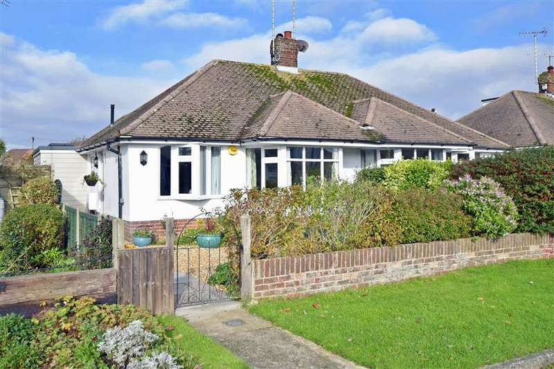 2 Bedrooms Semi Detached Bungalow for sale in Chaucer Avenue, Rustington, West Sussex