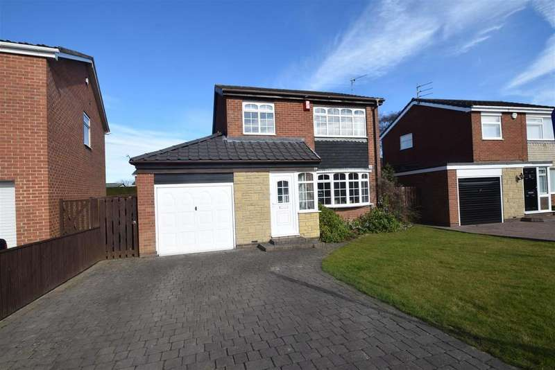 3 Bedrooms Detached House for sale in Gainsborough Close, Beaumont Park, Whitley Bay
