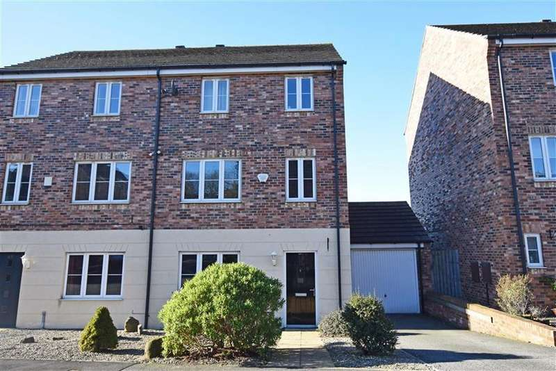 4 Bedrooms Semi Detached House for sale in High Greave, Barnsley, S71