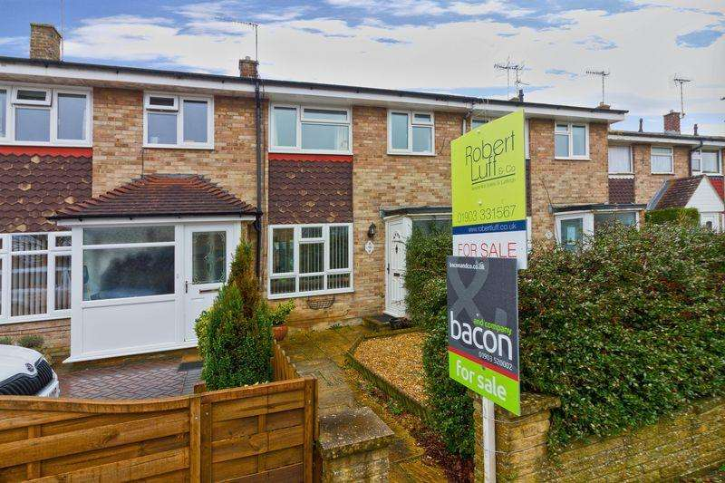 3 Bedrooms Terraced House for sale in Galsworthy Close, Goring-by-Sea