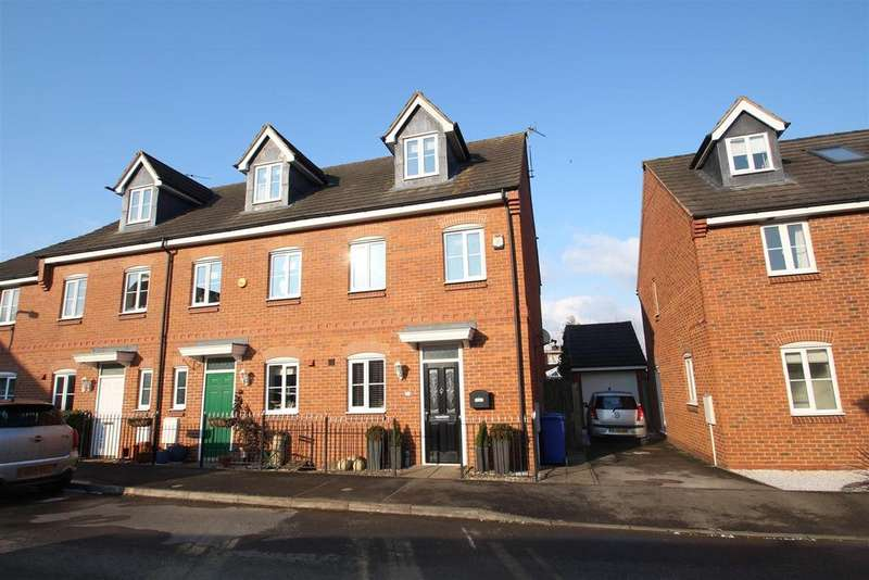 4 Bedrooms End Of Terrace House for sale in The Meadows, Old Stratford, Milton Keynes